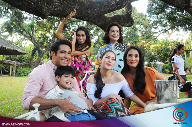 #ShinePilipinas: The cast of Nathaniel at the ABS-CBN Summer Station ID 2015 shoot