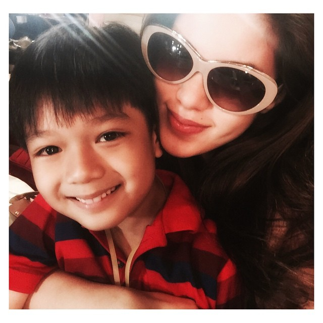PHOTOS: Rachel's bonding moments with her little angel Nathaniel