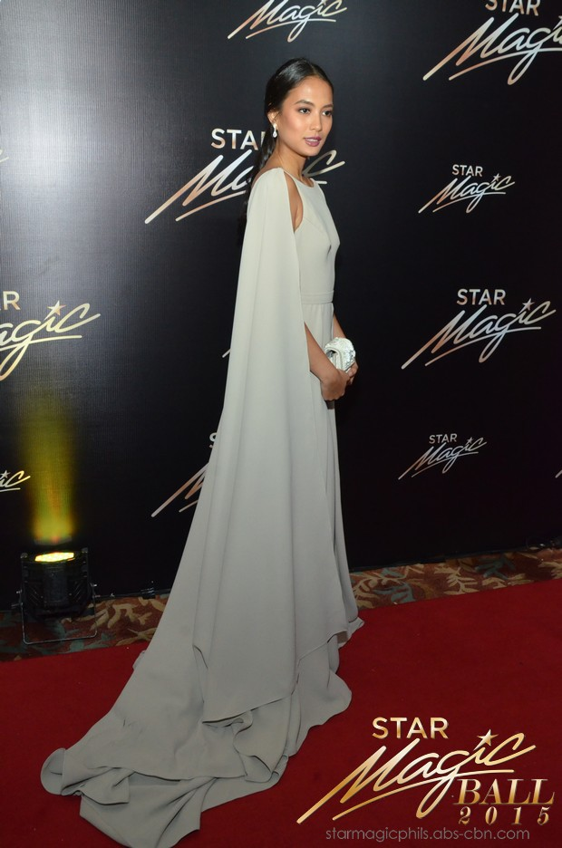 PHOTOS: Nathaniel stars shine at the Star Magic Ball 2015