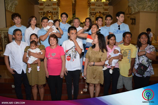 51 babies naging bahagi ng Nathaniel Binyagang Bayan