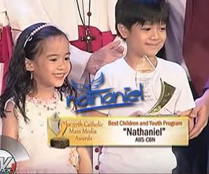 CMMA recognizes 'Nathaniel' for promoting values, teaching life lessons